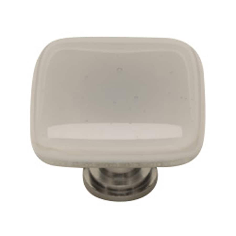 Sietto 1-1/4-in Satin Nickel Intrinsic Square Cabinet Knob