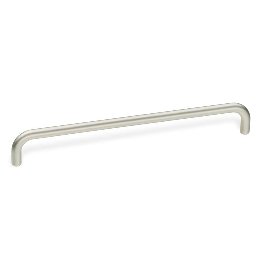 Schwinn Hardware 15-9/16-in Center-to-Center Satin Nickel Bar Cabinet Pull