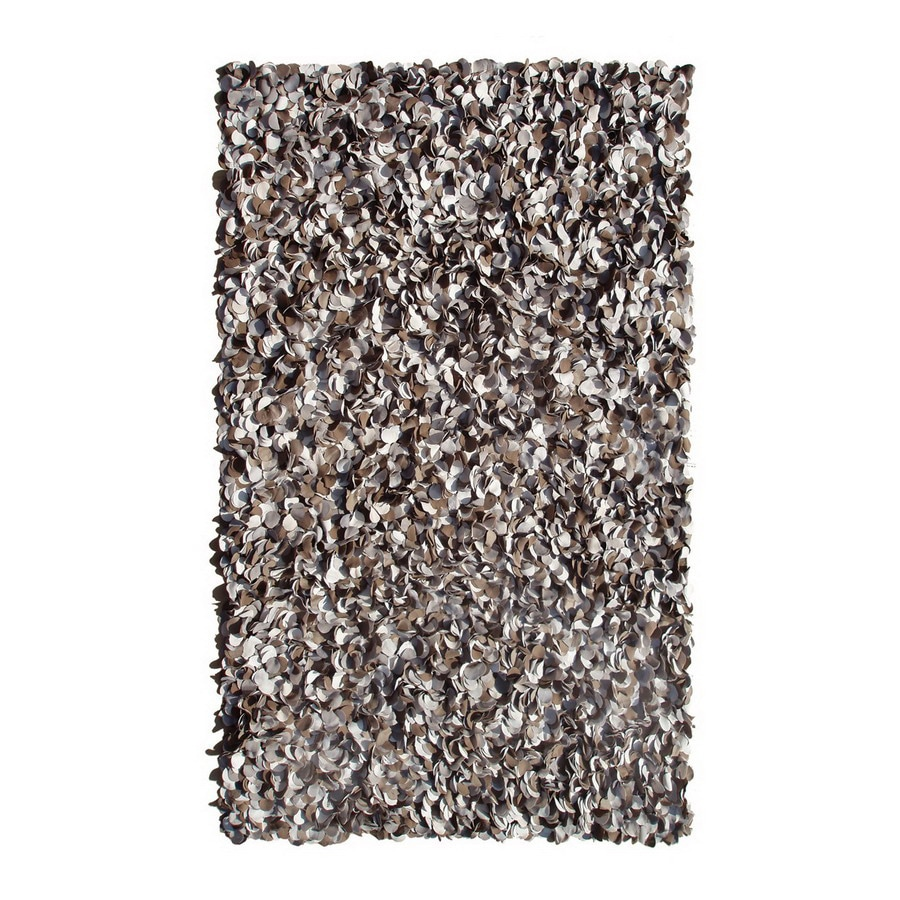 The Rug Market Frisco 6-ft 7-in x 9-ft 6-in Rectangular Multicolor Solid Area Rug