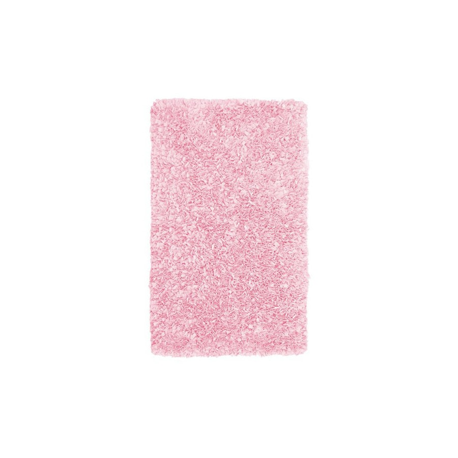 The Rug Market Kids Rectangular Red Solid Area Rug (Common: 5-ft x 8-ft; Actual: 4-ft 7-in x 7-ft 7-in)