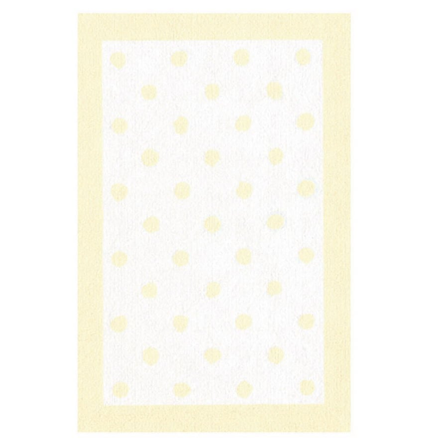The Rug Market Kids 32-in x 56-in Rectangular Multicolor Border Accent Rug