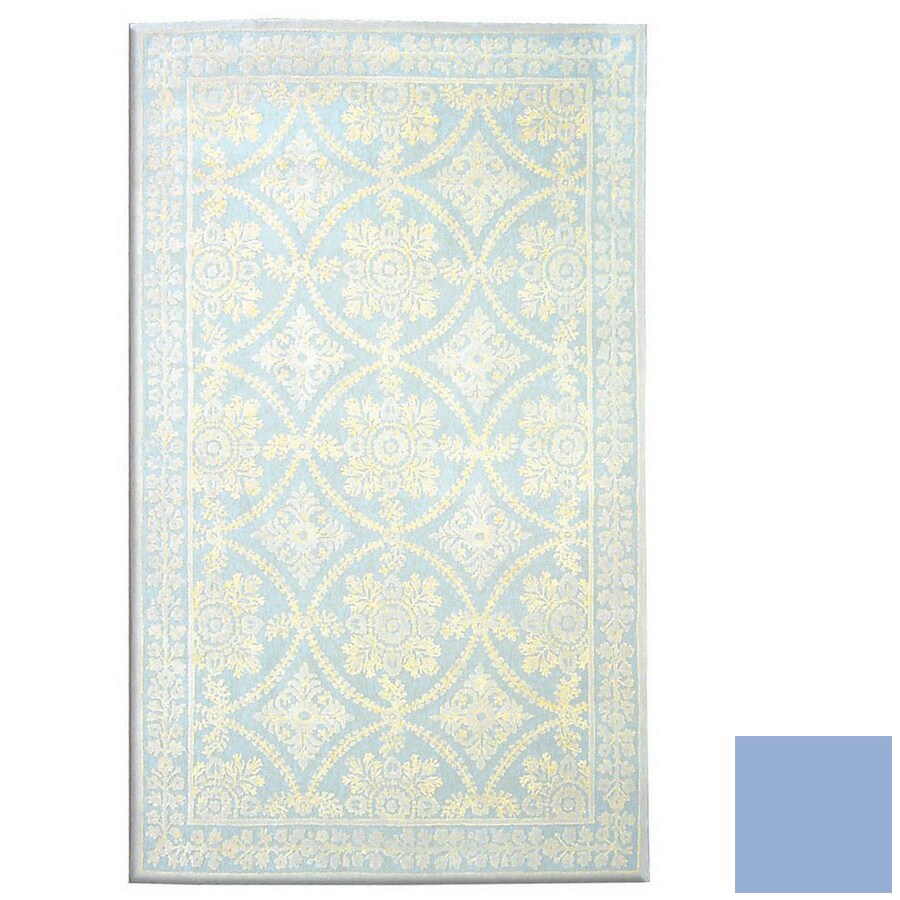 The Rug Market Camden Rectangular Multicolor Transitional Wool Area Rug (Common: 8-ft x 10-ft; Actual: 7-ft 9-in x 9-ft 9-in)