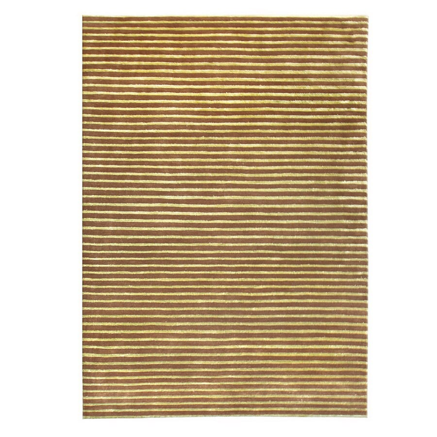 The Rug Market Rexford 8-ft x 11-ft Rectangular Tan Solid Area Rug