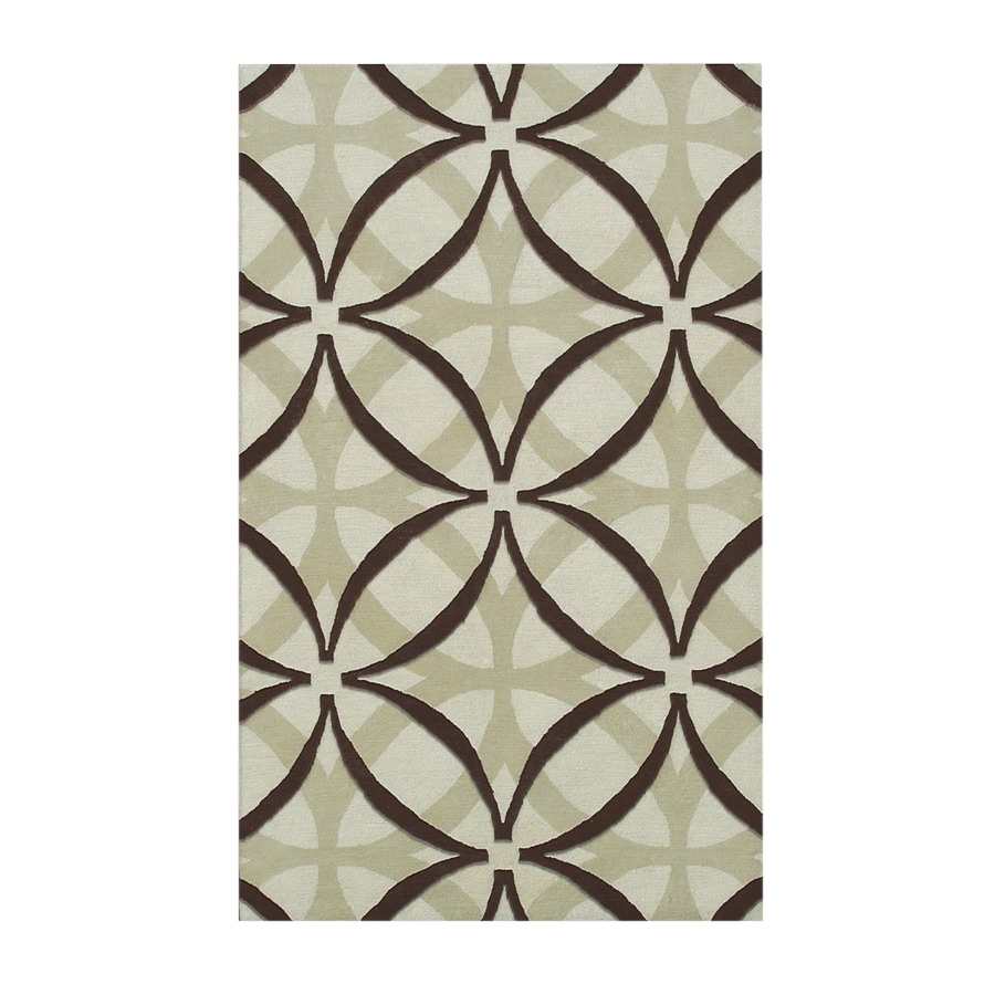 The Rug Market Camden 5-ft x 8-ft Rectangular Multicolor Transitional Area Rug