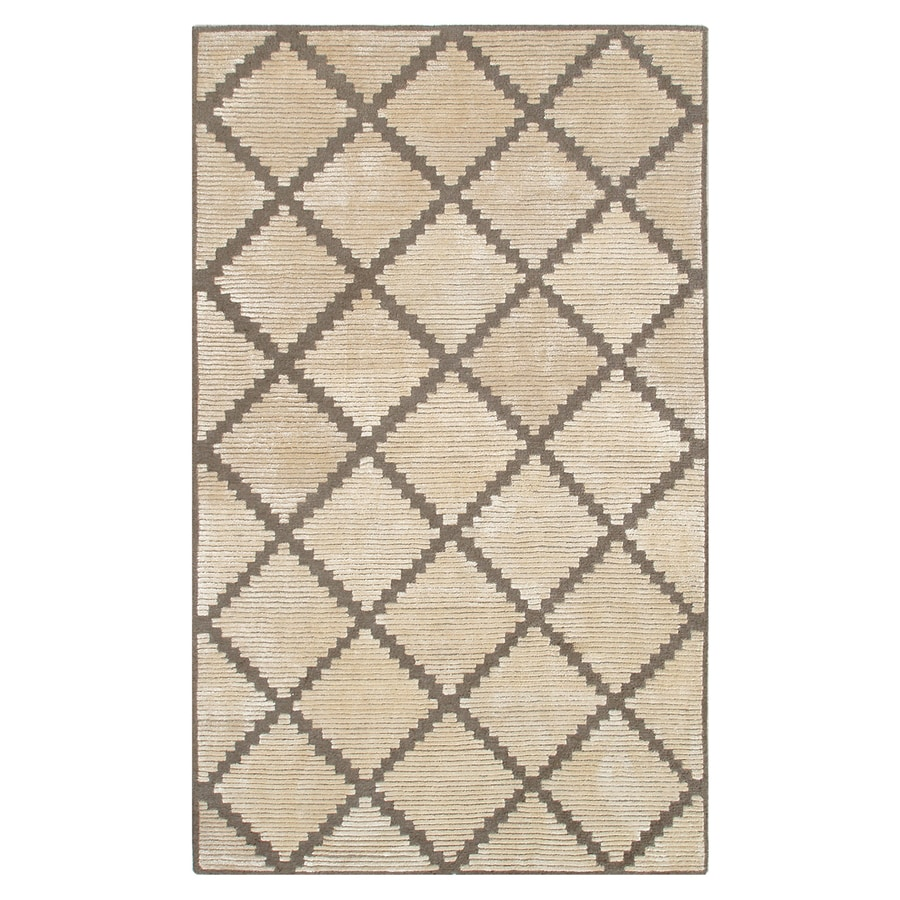 The Rug Market Shabati Cream Rectangular Indoor Tufted Area Rug (Common: 8 x 11; Actual: 96-in W x 132-in L)