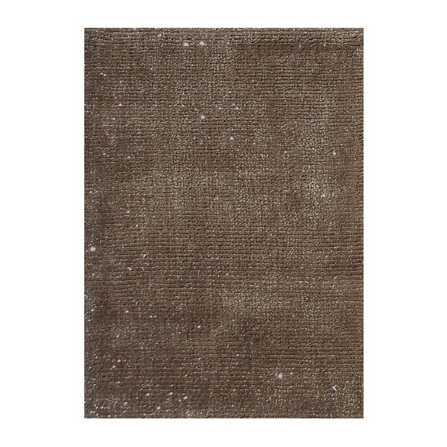 The Rug Market Frisco 8-ft x 10-ft Rectangular Tan Solid Area Rug