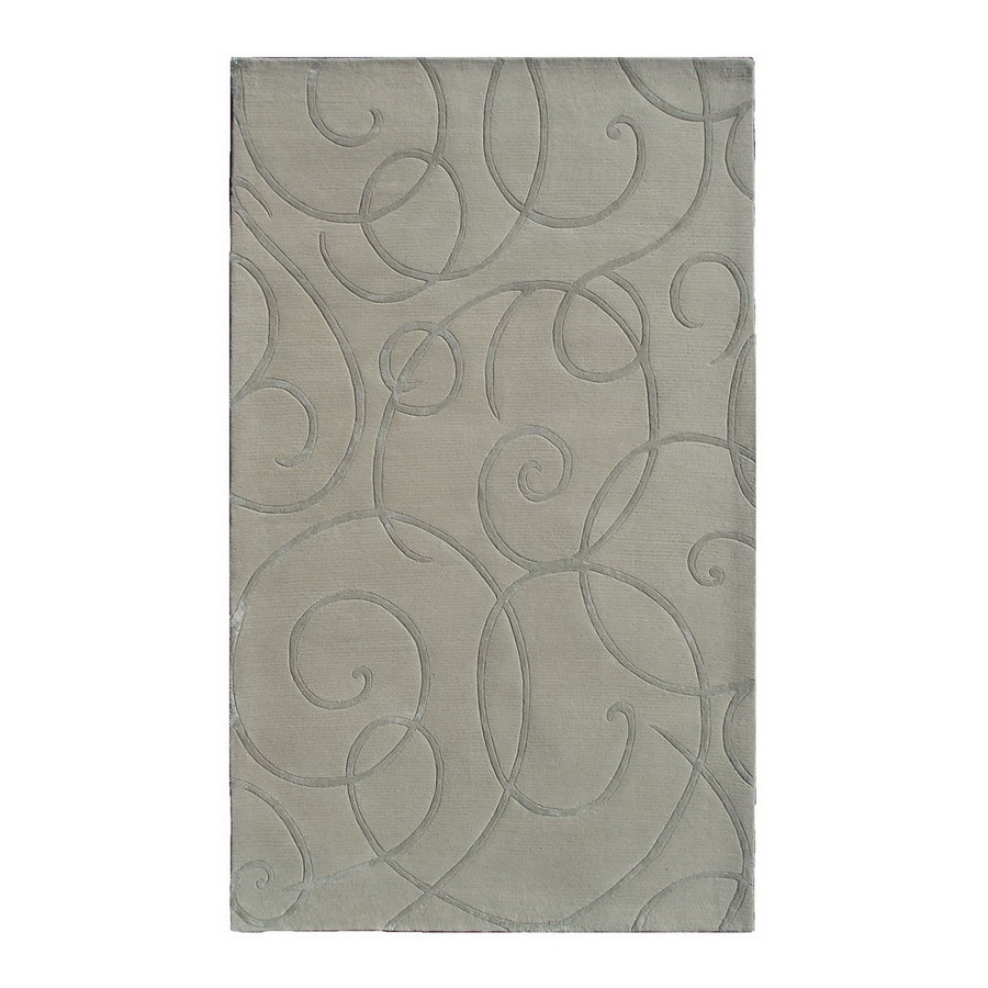 The Rug Market Rexford Rectangular Multicolor Transitional Wool Area Rug (Common: 10-ft x 13-ft; Actual: 10-ft x 13-ft)