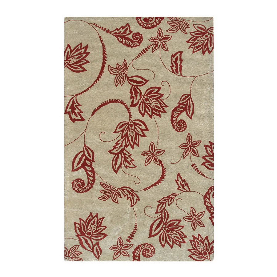 The Rug Market Camden 8-ft x 11-ft Rectangular Multicolor Floral Area Rug