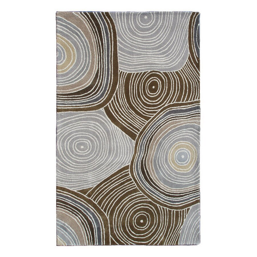 The Rug Market Camden 8-ft x 11-ft Rectangular Multicolor Transitional Area Rug
