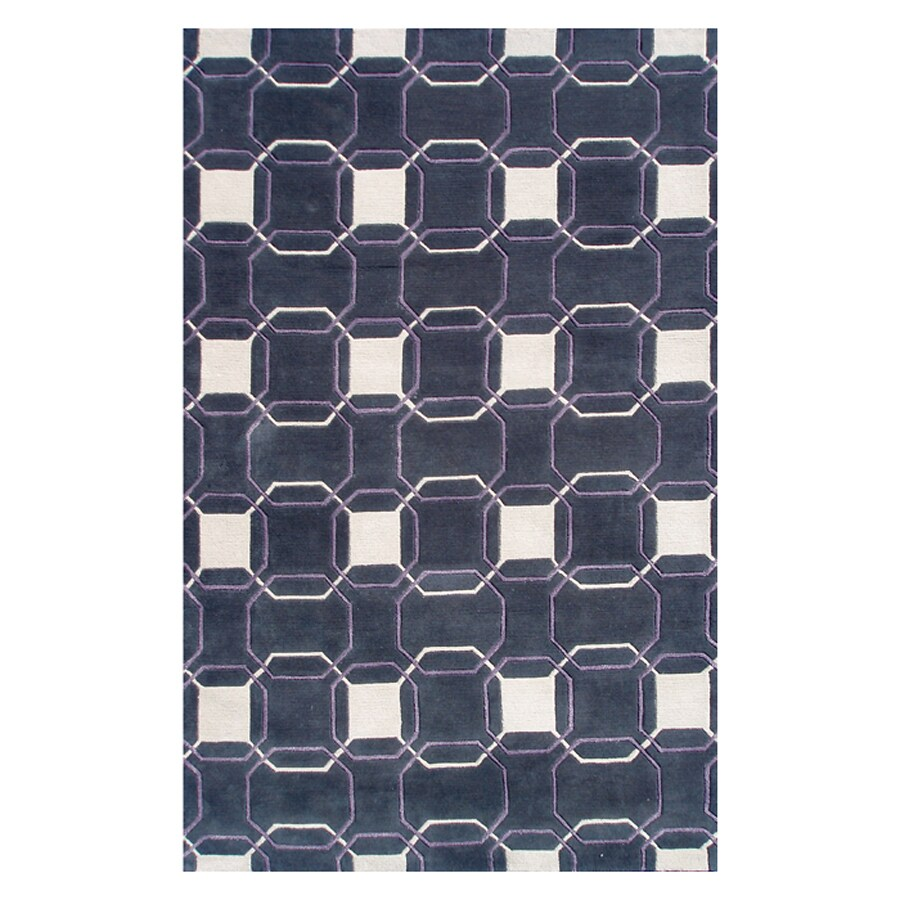 The Rug Market Rexford Gray Rectangular Indoor Tufted Area Rug (Common: 10 x 13; Actual: 10-ft W x 13-ft L)