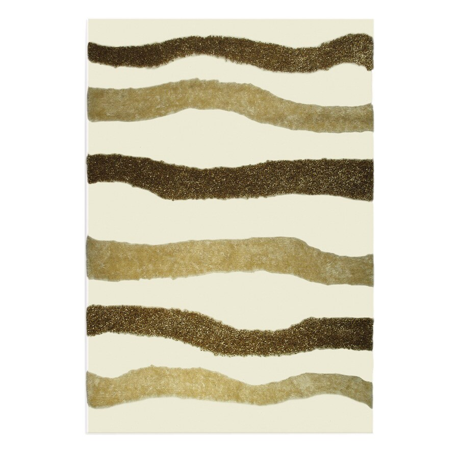 The Rug Market Resort 5-ft 3-in x 7-ft 7-in Rectangular Multicolor Transitional Area Rug