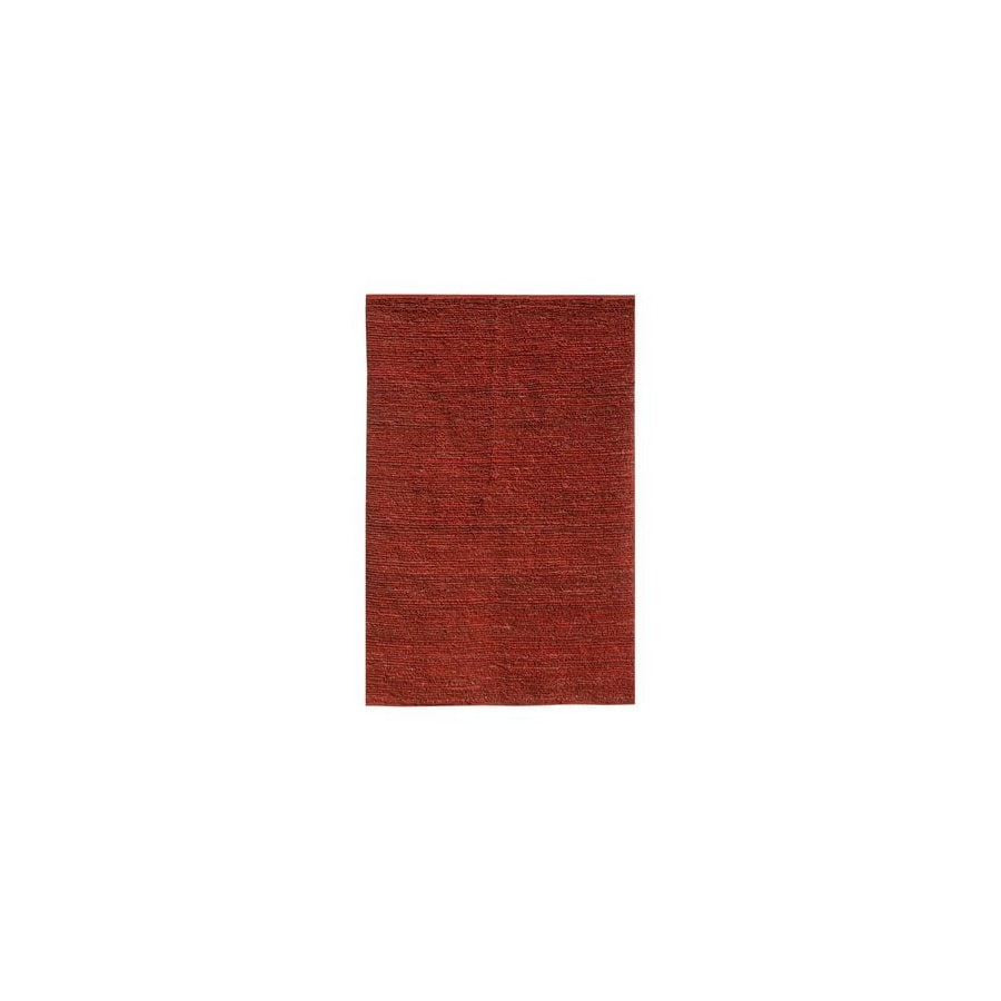 Jaipur Calypso 24-in x 36-in Rectangular Red Solid Jute Accent Rug