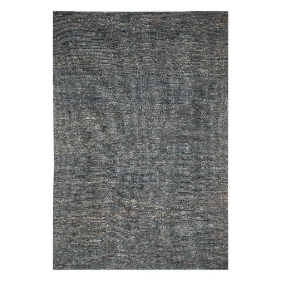 Jaipur Hula 24-in x 36-in Rectangular Blue Accent Rug