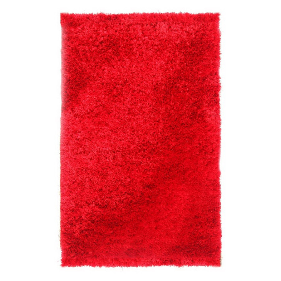 Jaipur Verve 24-in x 36-in Rectangular Red Accent Rug