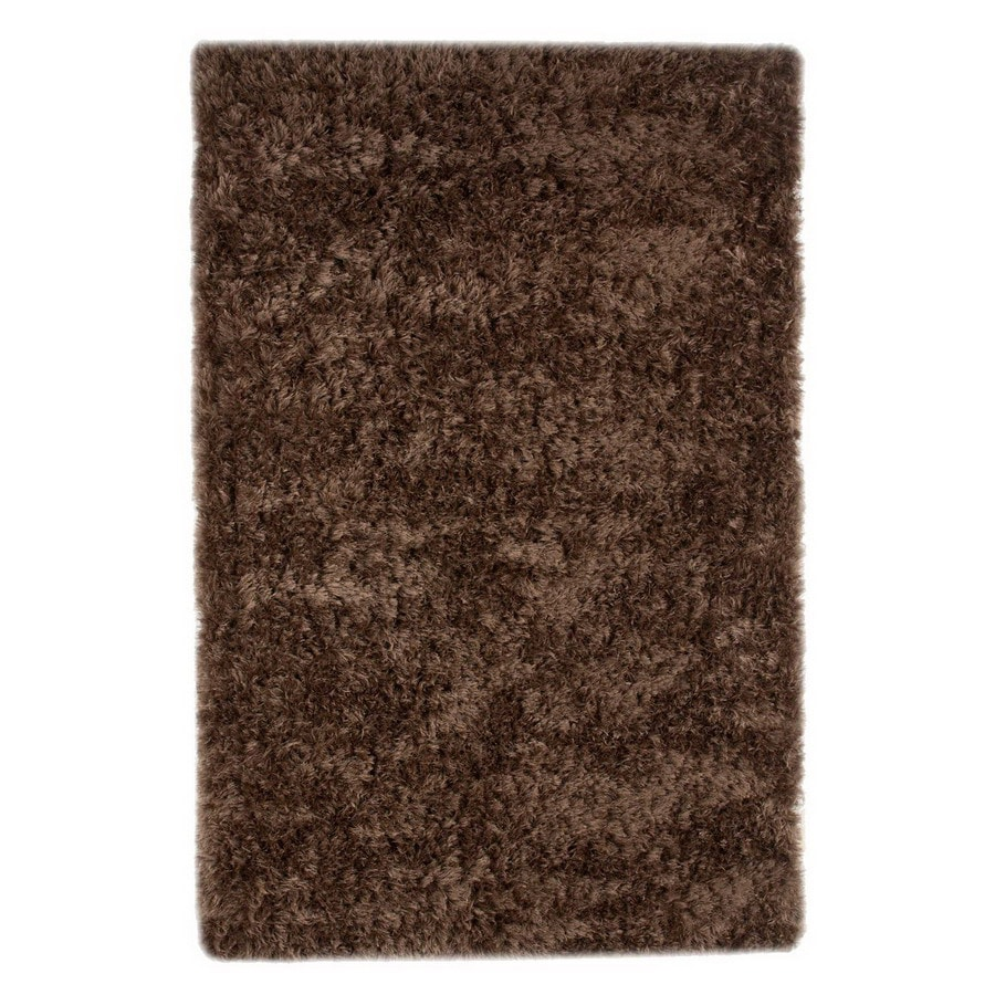 Jaipur Verve 24-in x 36-in Rectangular Brown Accent Rug