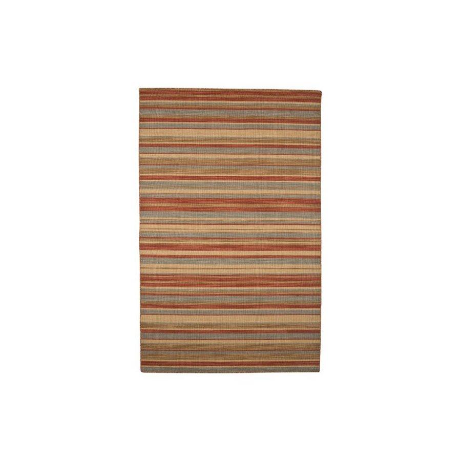 Jaipur Pura Vida Rectangular Multicolor Transitional Indoor/Outdoor Wool Area Rug (Actual: 8-ft x 10-ft)