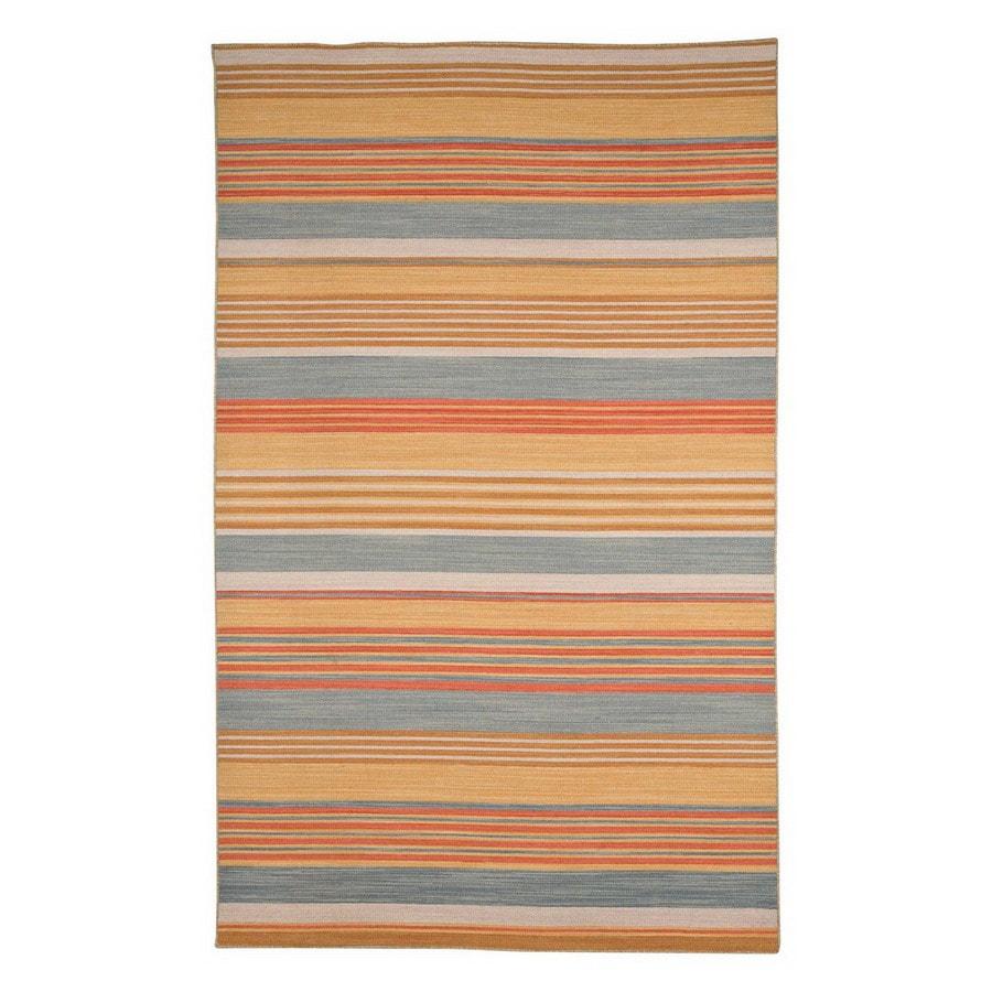 Jaipur Pura Vida 8-ft x 10-ft Rectangular Multicolor Transitional Wool Area Rug