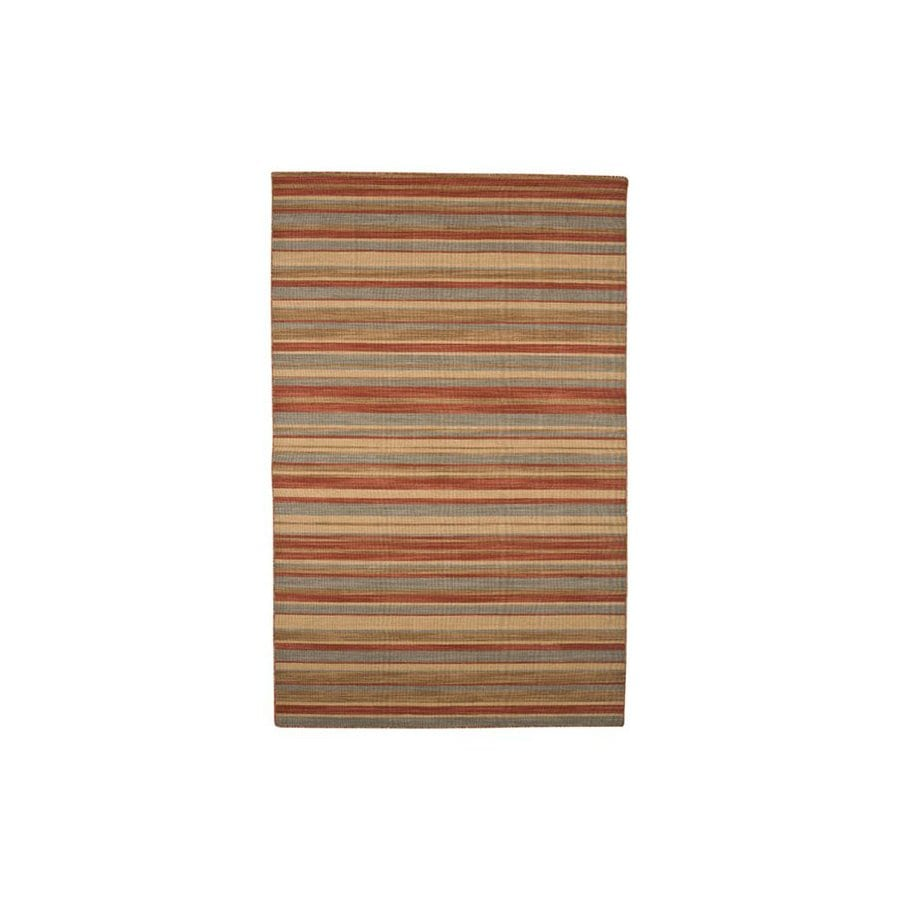 Jaipur Pura Vida Rectangular Multicolor Transitional Indoor/Outdoor Wool Area Rug (Actual: 9-ft x 12-ft)
