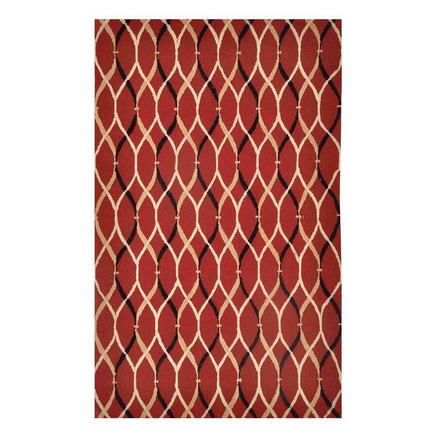 Jaipur Brio 3-ft 6-in x 5-ft 6-in Rectangular Multicolor Transitional Area Rug