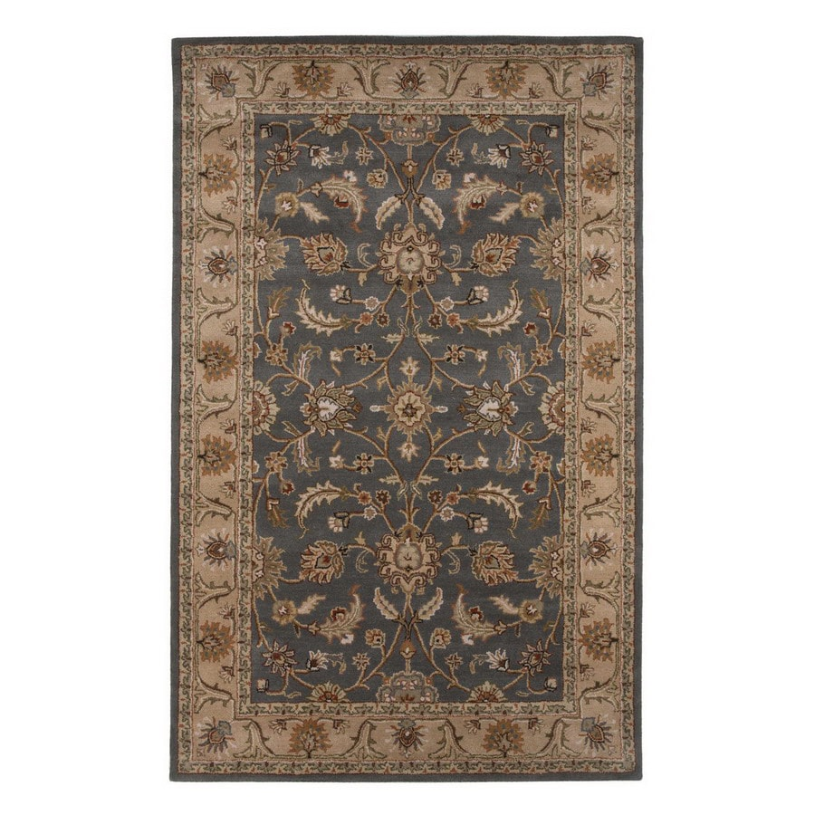 Jaipur Poeme 9-ft 6-in x 13-ft 6-in Rectangular Multicolor Transitional Wool Area Rug