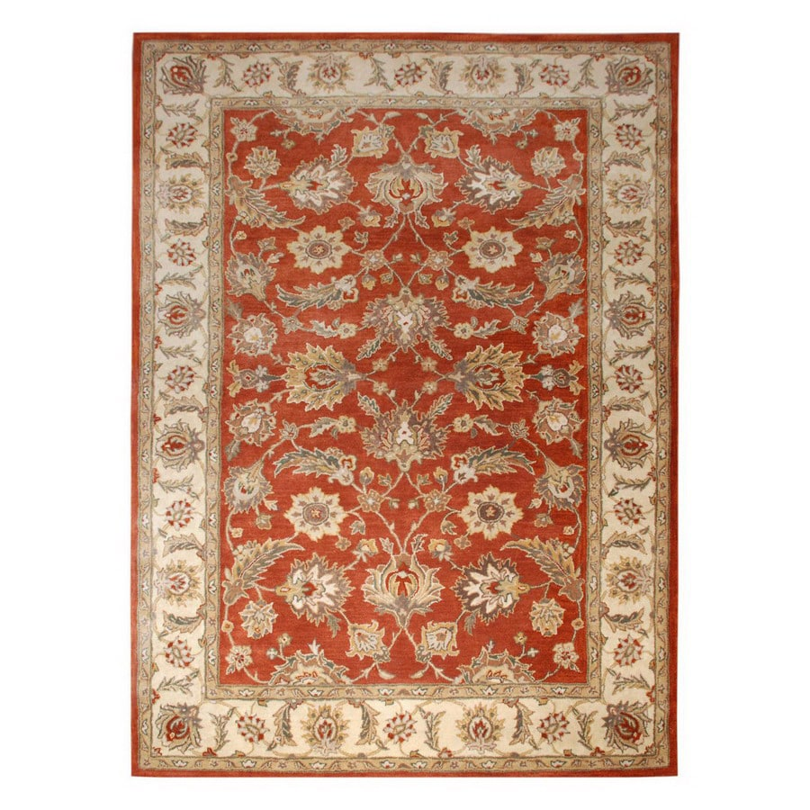 Jaipur Mythos Rectangular Multicolor Transitional Wool Area Rug (Actual: 4-ft x 8-ft)