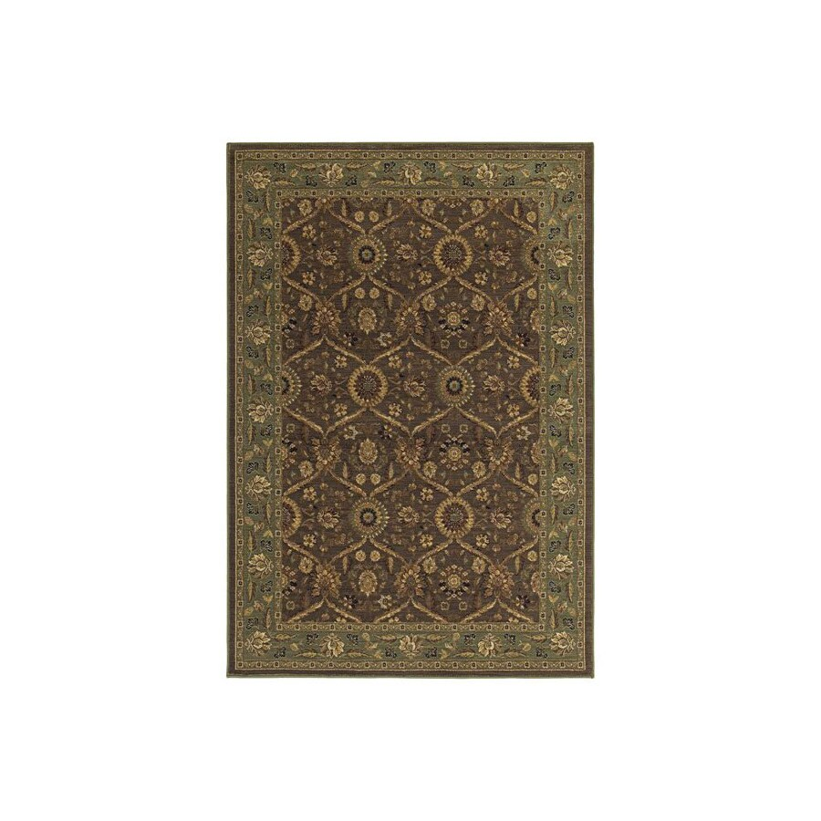 Kaleen Comfort 7-ft 9-in x 9-ft 7-in Rectangular Multicolor Transitional Area Rug