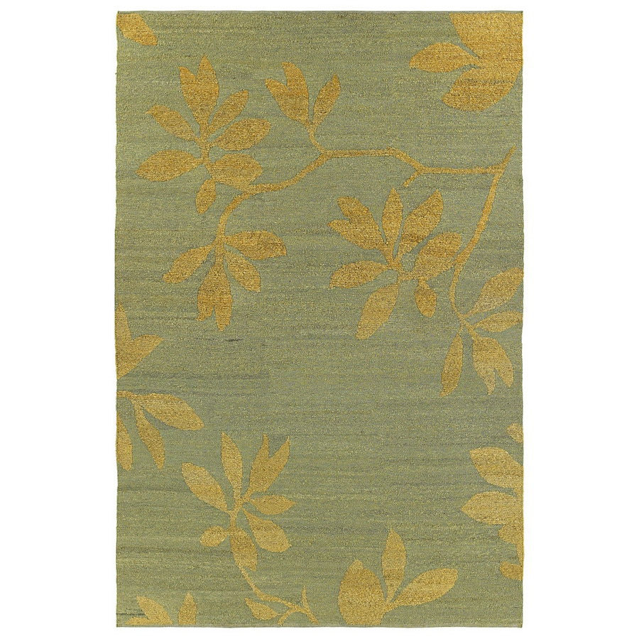 Kaleen Mallard Creek 5-ft x 7-ft 9-in Rectangular Multicolor Floral Wool Area Rug