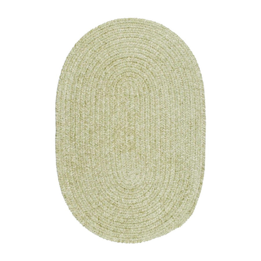 Colonial Mills Spring Meadow Round Green Solid Indoor/Outdoor Area Rug (Common: 10-ft x 10-ft; Actual: 10-ft x 10-ft)