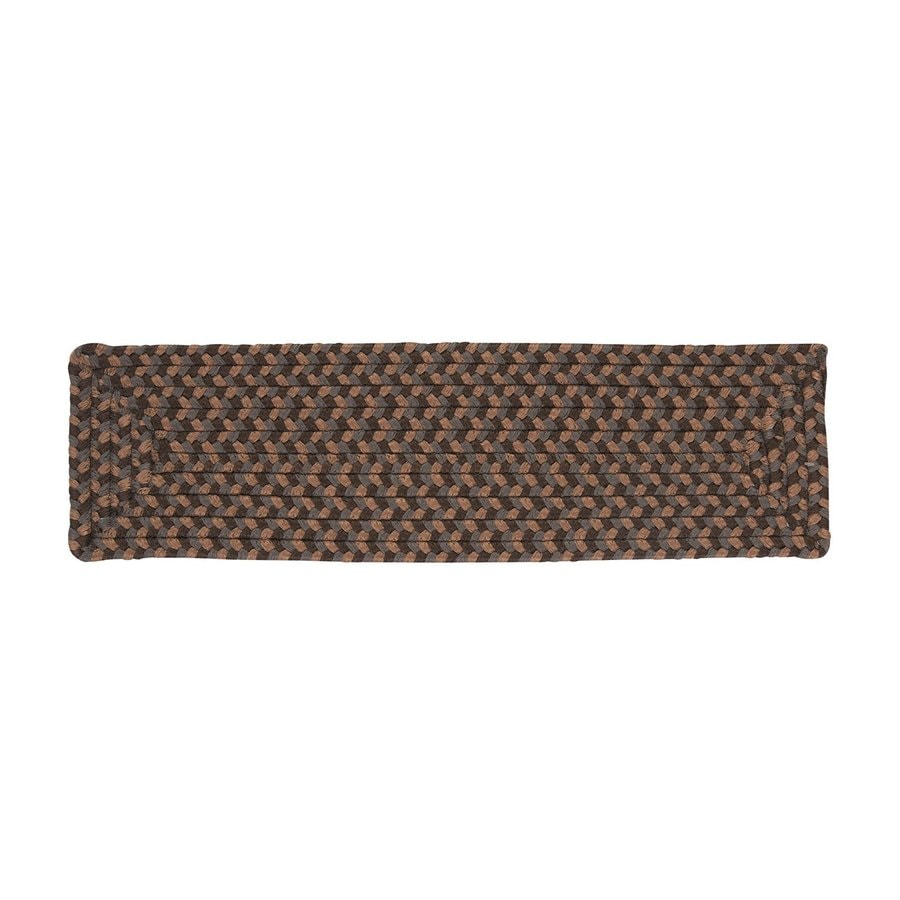 Colonial Mills Dockside Rectangular Stair Tread Mat (Common: 8-in x 28-in; Actual: 8-in x 28-in)