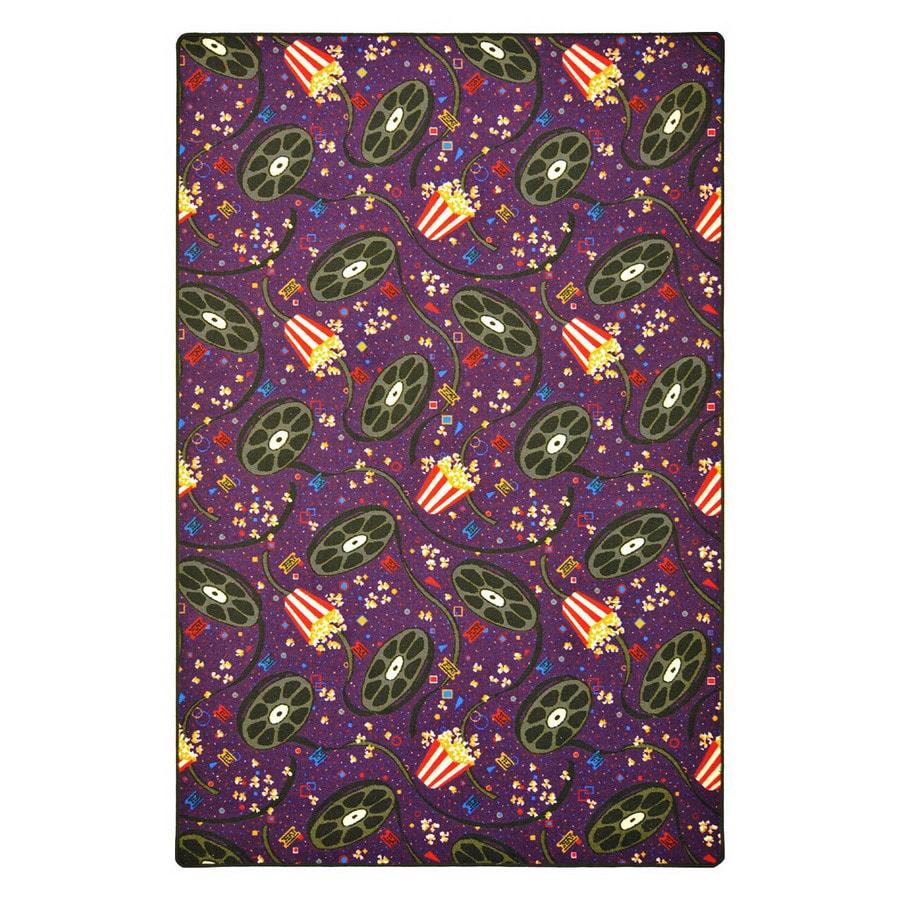 Joy Carpets Showtime 18-ft x 12-ft Rectangular Multicolor Transitional Area Rug