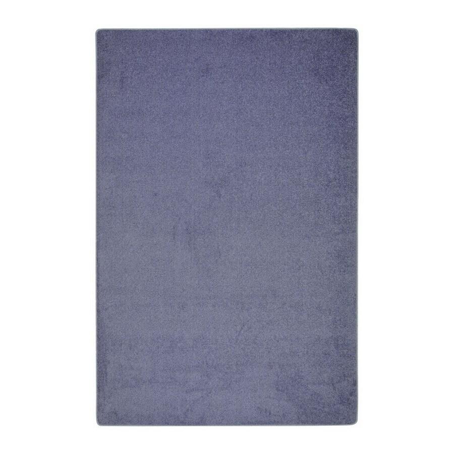 Joy Carpets Endurance Glacier Blue Rectangular Indoor Tufted Area Rug (Common: 6 x 9; Actual: 6-ft W x 9-ft L)