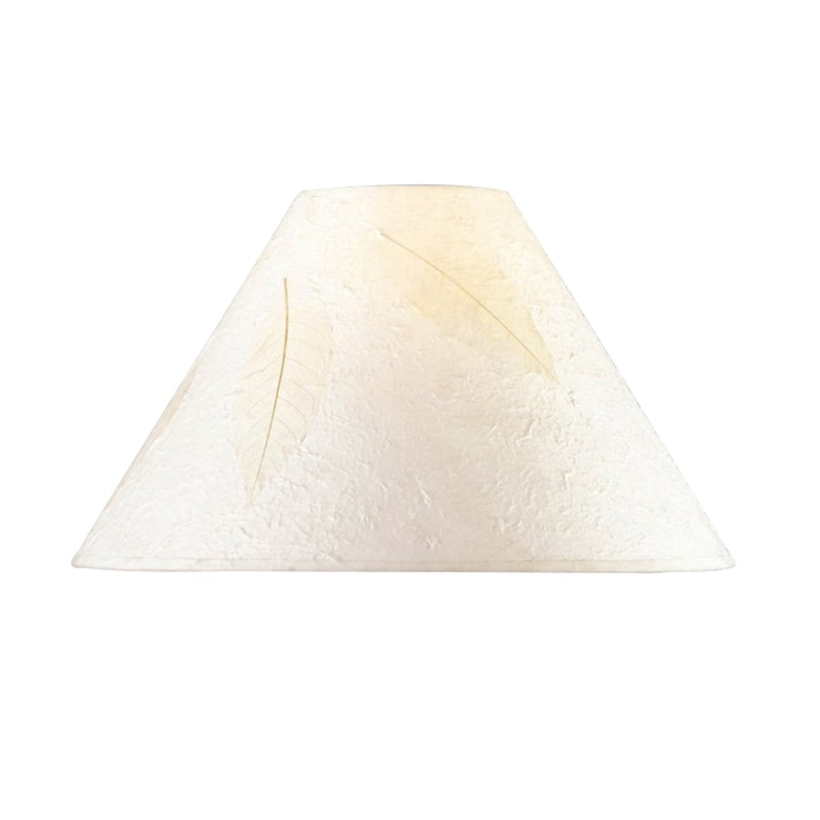 Cal Lighting 10.5-in x 16-in Rice Paper Empire Lamp Shade