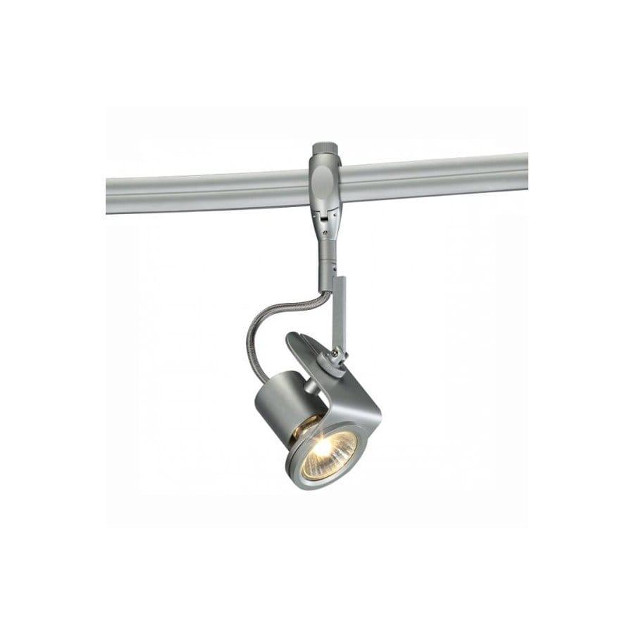 Flexible Track Lighting System: Bruck Lighting Systems Matte Chrome Flexible Track