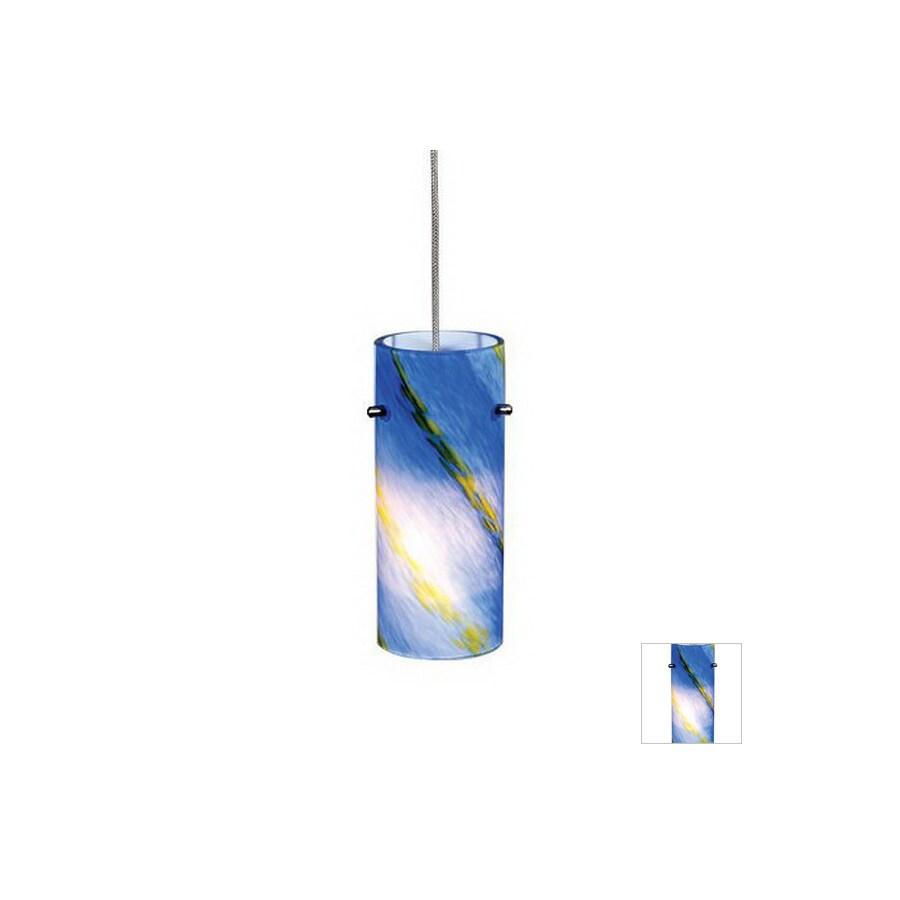 Cascadia Lighting Satin Nickel Flexible Track Light Pendant