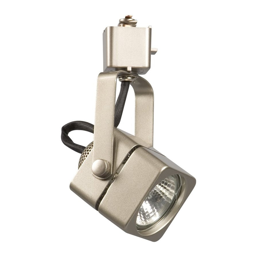 Galaxy 1-Light Dimmable Pewter Gimbal Linear Track Lighting Head