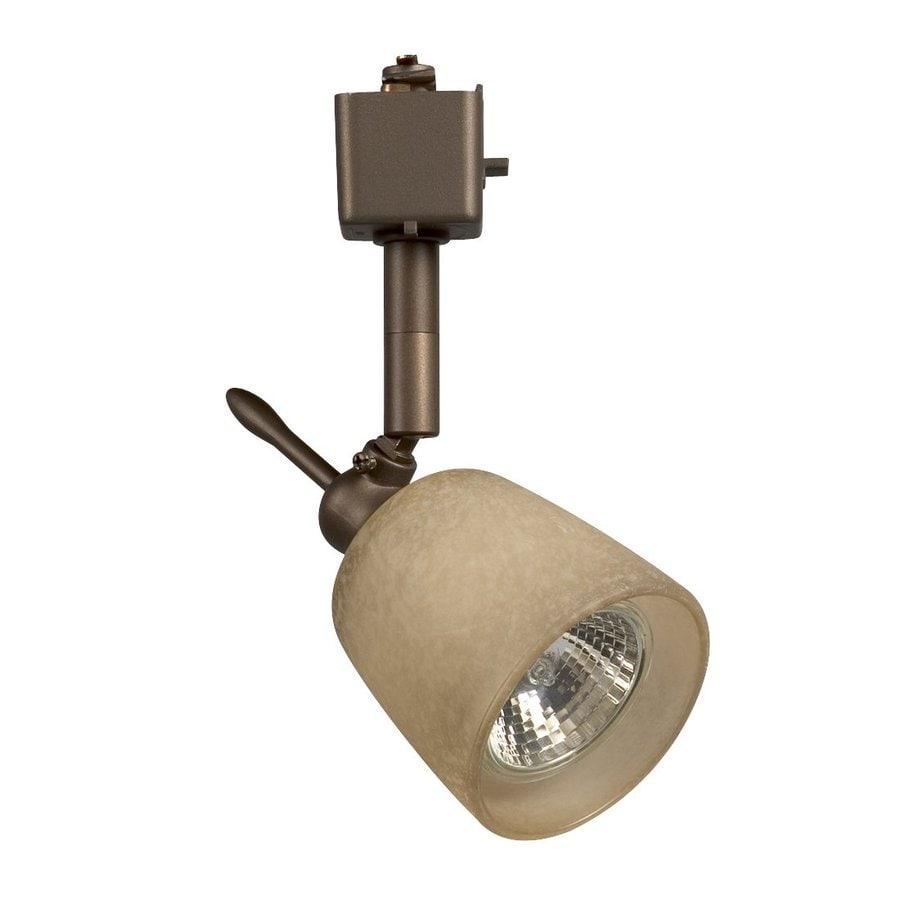 Galaxy 1-Light Dimmable Bronze Mini Linear Track Lighting Head