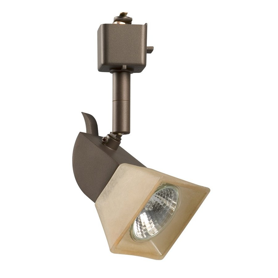 Galaxy 1-Light Dimmable Bronze Mini Linear Track Lighting Head