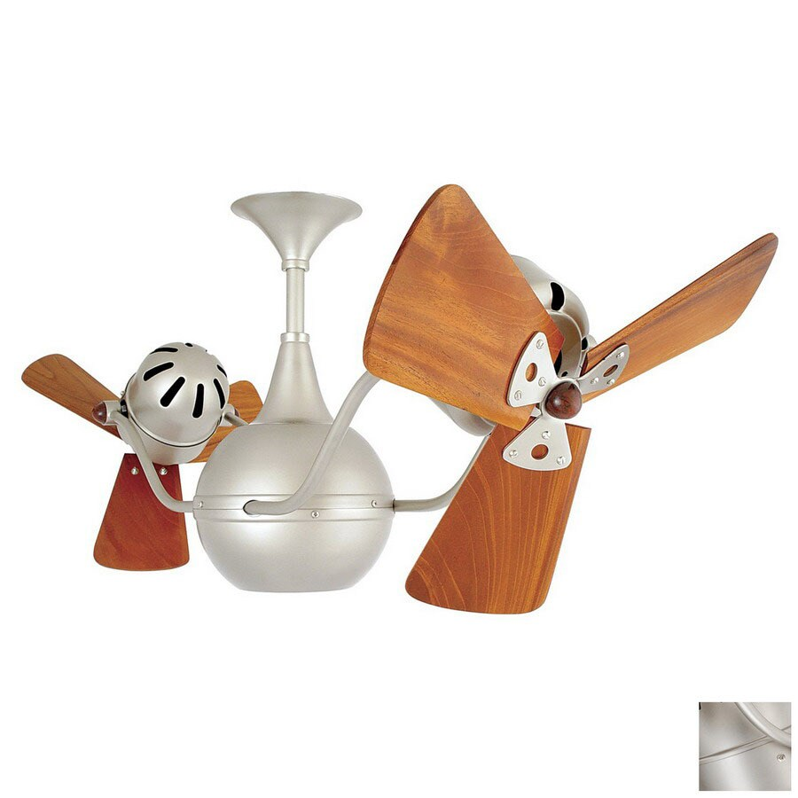 Matthews 13-in Vent Bettina Brushed Nickel Ceiling Fan