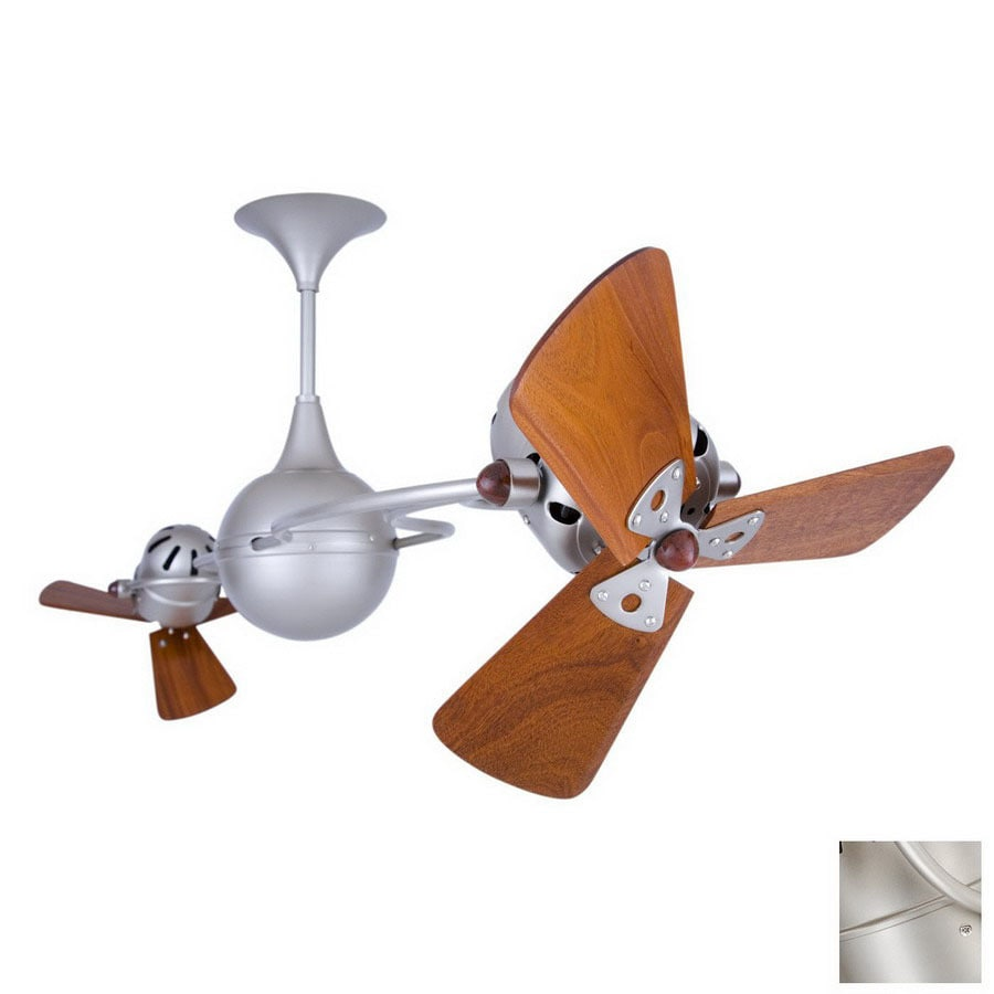 Matthews 16-in Italo Ventania Brushed Nickel Ceiling Fan