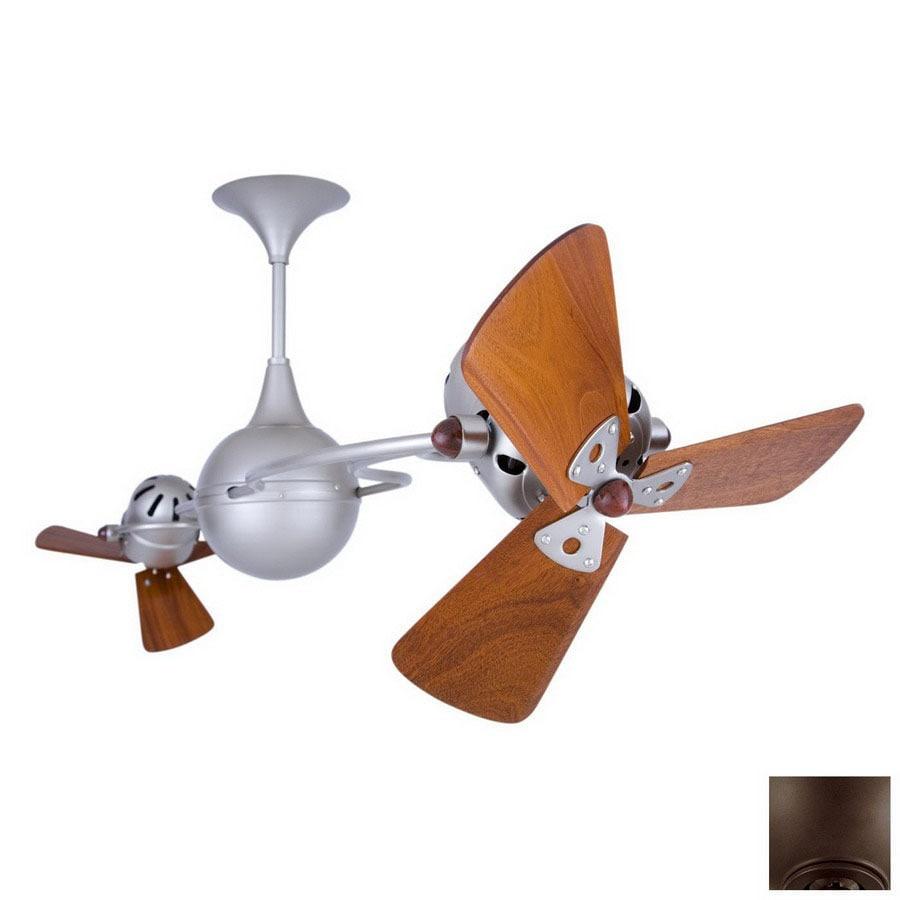 Matthews 13-in Italo Ventania Bronze Ceiling Fan