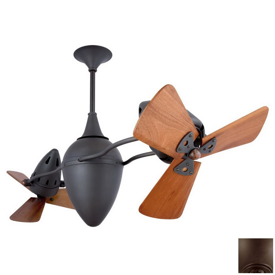 Matthews 16-in AR Ruthiane Bronze Ceiling Fan