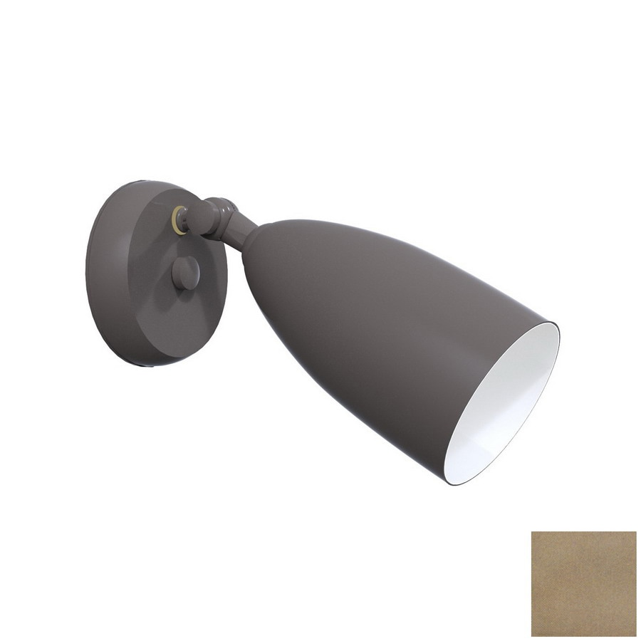 Remcraft Lighting W Satin Aluminum Outdoor Flush-Mount Light