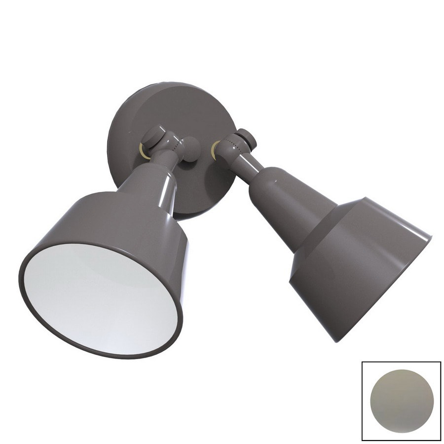 Remcraft Lighting Swedish Modern W Grey Outdoor Flush-Mount Light