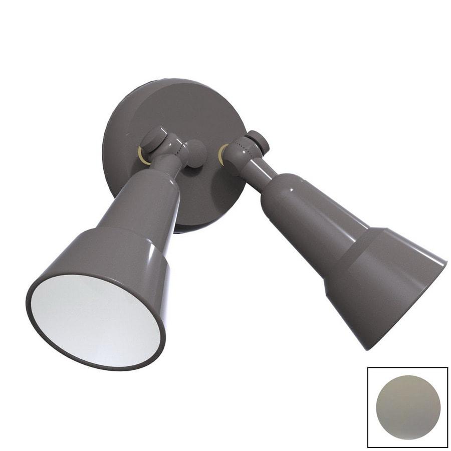 Remcraft Lighting Swedish Modern Grey Outdoor Flush Mount Light