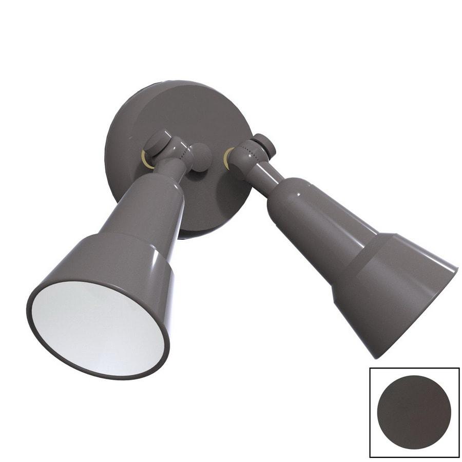 Remcraft Lighting Swedish Modern W Bronze Outdoor Flush-Mount Light