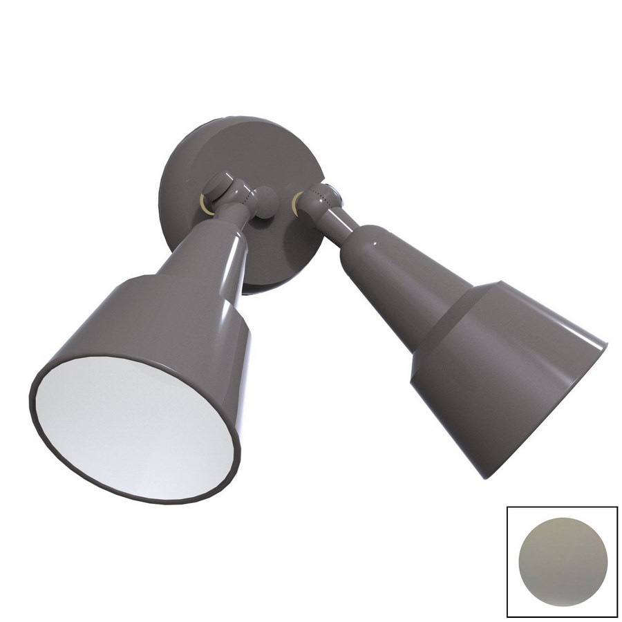Remcraft Lighting Swedish Modern Grey Outdoor Flush Mount Light