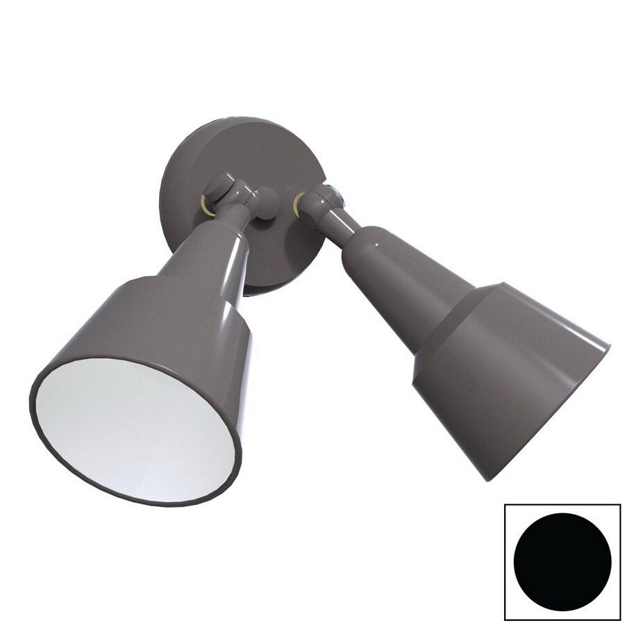 Remcraft Lighting Swedish Modern W Black Outdoor Flush-Mount Light