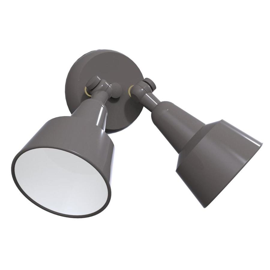Remcraft Lighting Swedish Modern W Satin Aluminum Outdoor Flush-Mount Light