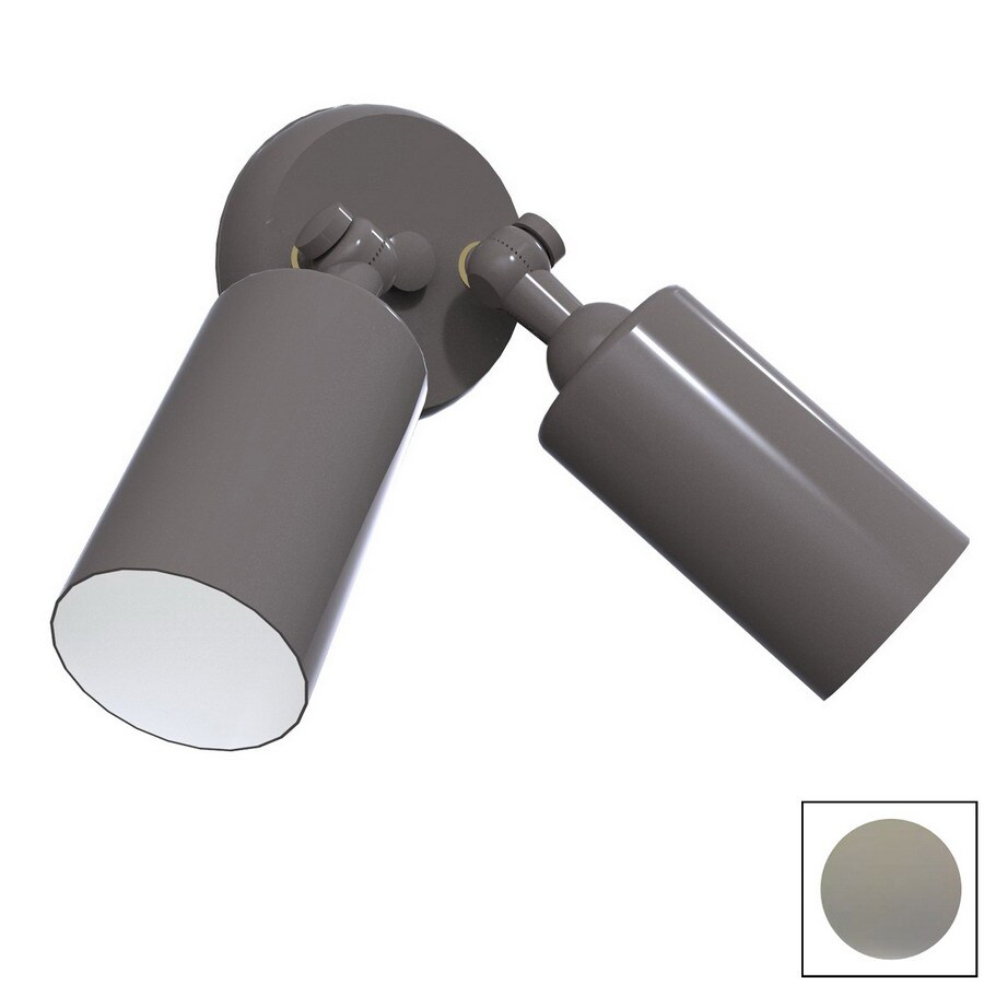 Remcraft Lighting Cylinders W Grey Outdoor Flush-Mount Light