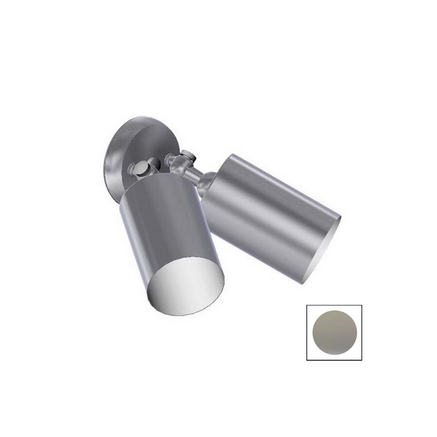Remcraft Lighting Cylinders Grey Outdoor Flush Mount Light